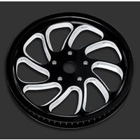 Performance Machine P00935366TORLBMP Torque Pulley Kit Platinum Cut 66T x 20mm Softail '07-11 w/OEM 200 Rear Tyre
