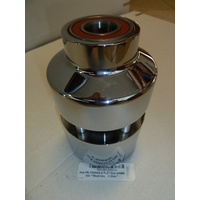 Performance Machine P01291200CH Front Hub Kit for FXDWG & FLD'12up w/ABS (FLD'12up Must use Disc) Chrome