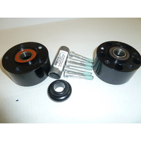 Performance Machine P01291206AB Front Hub Kit for V-Rod'08up & FXDL'14up Dual Disc w/ABS (Must Use Disc) Black Anodized