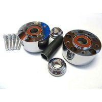 Performance Machine P01291206ACH Front Hub Kit for V-Rod'08up & FXDL'14up Dual Disc w/ABS (Must Use Disc) Chrome