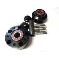Performance Machine P01291209B Front Hub Kit for FXDFXDL'08-11 (Use OEM Mag Disc) Black Anodized