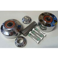 Performance Machine P01291210CH Front Hub Kit for FXD'08-11 (Must Use Disc) Chrome