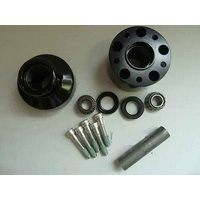Performance Machine P01291216B Front Hub Kit for FLST'86-99 Black Anodized