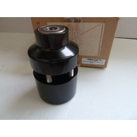 Performance Machine P01291227B Front Hub Kit for FXST'00-06FXDWG'00-05 Single Disc Black Anodized