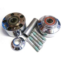 Performance Machine P01291248CH Front Hub Kit for FXCW/FXCWC'11up w/ABS Chrome