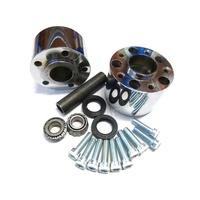 Performance Machine P01291264CH Rear Hub Kit for XL'84-99 w/Rear Belt Chrome