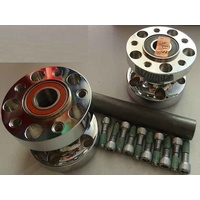 Performance Machine P01291265CH Rear Hub Kit for FXCW FXCWC'11 Only &FXSB'13up w/ABS Chrome