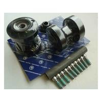 Performance Machine P01291274ABB Rear Hub Kit for Heartland HL-240D Kits FXD'06-11 w/240 Tyre Black Anodized