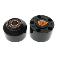 Performance Machine P01291504B Front Hub Kit for FXSB'13up w/ABS Black Anodized w/ABS Blk