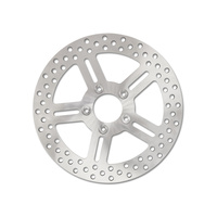"""Performance Machine P01311584 11 1/2"""" Front Classic 5 Spoke Stainless Steel Disc Rotor for most Big Twin/Sportster 00up"""