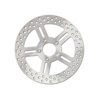 """Performance Machine P01311842 11.8"""" Front Classic 5 Spoke Stainless Steel Disc Rotor for Dyna 06-17/Softail 15up/Sportster 14up/Touring 08up"""