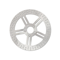 """Performance Machine P01313035 13"""" Front Classic 5 Spoke Stainless Steel Disc Rotor for most Big Twin 00up (when upgrading to 13"""" x 6 Piston Caliper)"""