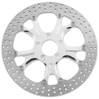 """Performance Machine P01333015GATS Gasser/Luxe Left & Right Hand Front 13"""" 2.22/1.985"""" Diameter Disc Polished Cut"""