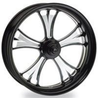 "Performance Machine P01571103RGASBMP Gasser 21"" x 2.15"" Wheel Platinum Cut"