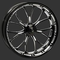 "Performance Machine P01571106RHEABMP Heathen 21"" x 3.5"" Wheel Platinum Cut"