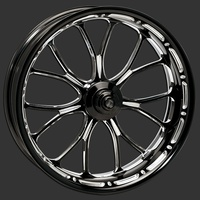 "Performance Machine P01573814RHEABMP Heathen 18"" x 5.5"" Wheel Platinum Cut"