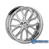 "Performance Machine P01573825RHEACH Heathen 18"" x 8.5"" Wheel Chrome"