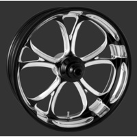 "Performance Machine P01573825RLUXBMP Luxe 18"" x 8.5"" Wheel Platinum Cut"