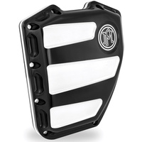 Performance Machine P01772020BMP Scallop Cam Cover Platinum Cut