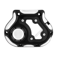 Roland Sands Designs P01772031BM Clarity Clutch Release Cover Contrast Cut Big Twin'87-06 5 Speed Models(Exc FXD'06)