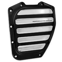 Performance Machine P01772036BMP Drive Cam Cover Platinum Cut