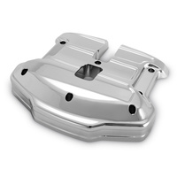 Performance Machine P01772070CH Scallop Rocker Covers Chrome for FLH'17up/Softail'18up