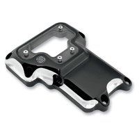 Roland Sands Designs P02032004BM Clarity Transmission Top Cover Contrast Cut Twin Cam 06-Up6 Speed