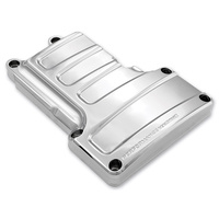 Performance Machine P02032006CH Scallop Transmission Covers Chrome 6 Speed 07-12 ST, 07-12 FL, 06-12 DYNA