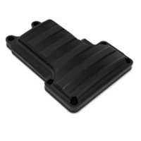 Performance Machine P02032014SMB Drive Style Transmission Top Cover Black Ops Big Twin'07up 6 Speed