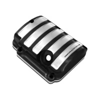 Performance Machine P02032015BMP Drive Style Transmission Top Cover Contrast Cut Big Twin'87-06 5 Speed