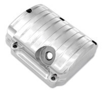 Performance Machine P02032015CH Drive Style Transmission Top Cover Chrome Big Twin'87-06 5 Speed