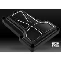 Performance Machine P02032016BM Formula Transmission Top Cover Contrast Cut Big Twin'07up 6 Speed
