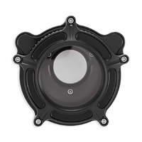 Roland Sands Design P02062128SMB Clarion Air Cleaner Kit Black Ops for Twin Cam 08-17 w/Throttle-By-Wire