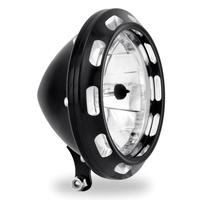 "Performance Machine P02072004APXBM Apex Visions 5-3/4"" Headlight Contrast Cut"