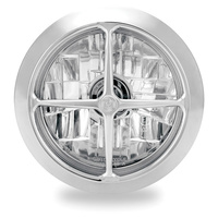 "Performance Machine P02072004CBRCH Crossbar Visions 5-3/4"" Headlight Chrome"