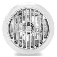 "Performance Machine P02072004GRLCH Grill Visions 5-3/4"" Headlight Chrome"