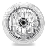 "Performance Machine P02072004MRCCH Merc Visions 5-3/4"" Headlight Chrome"