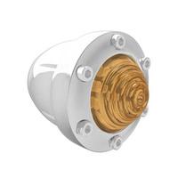 Roland Sands Designs P02072018CH Front Tracker Turn Signal Housing Chrome