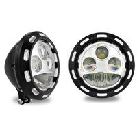 "Performance Machine P02072024APXBM Apex LED 5-3/4"" Headlight Contrast Cut"