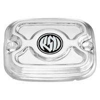 Roland Sands Designs P02082036CH Cafe Front Master Cylinder Cap Chrome Softail '06-14 FXD'06up & FLH'05-07