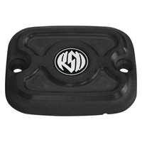Roland Sands Designs P02082036SMB Cafe Front Master Cylinder Cap Black Ops Softail '06-14 FXD'06up & FLH'05-07