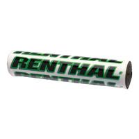 "Renthal P269 Junior 8.5"" Handlebar Crossbrace Bar Pad White/Green"