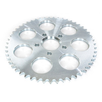 PBI 2073S-51-SZ Rear 51T Sprocket Flat Steel Silver Zinc for BT'73up XL'82up inc '00up