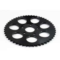PBI 2073S-53-BZ Rear Zinc Finish Black Sprocket BT'73up 53T Flat Spk (inc T/Cam)