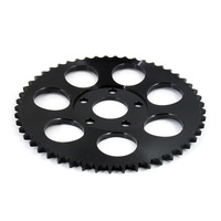 PBI 2073S-55-BZ Rear 55T Flat Sprocket Black Zink Finish BT'73up (inc T/Cam)