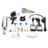 Pingel PE-77704 Electric Shifter Kit FLST '07-17 w/Floorboards & Softail Slim '13-17