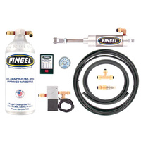 Pingel PE-845 Universal Premium Electric Over Air Shift Kit Including Adjustable Electronic Kill Module and DOT Air Bottle