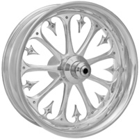 Performance Machine Stiletto Wheel - 19x3 - Front