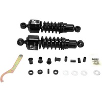 "Progressive Suspension 412-4005B 412 Series 11"" Shocks FLH80-05 XL79-03 FXR 82-94 Black"