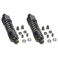 """Progressive Suspension 412-4005C 412 Series 11"""" Shocks Chrome for Touring 80-05/Sportster 79-03/FXR 82-94"""